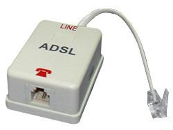In-line DSL Filter 1 Male to 1 Female RJ11